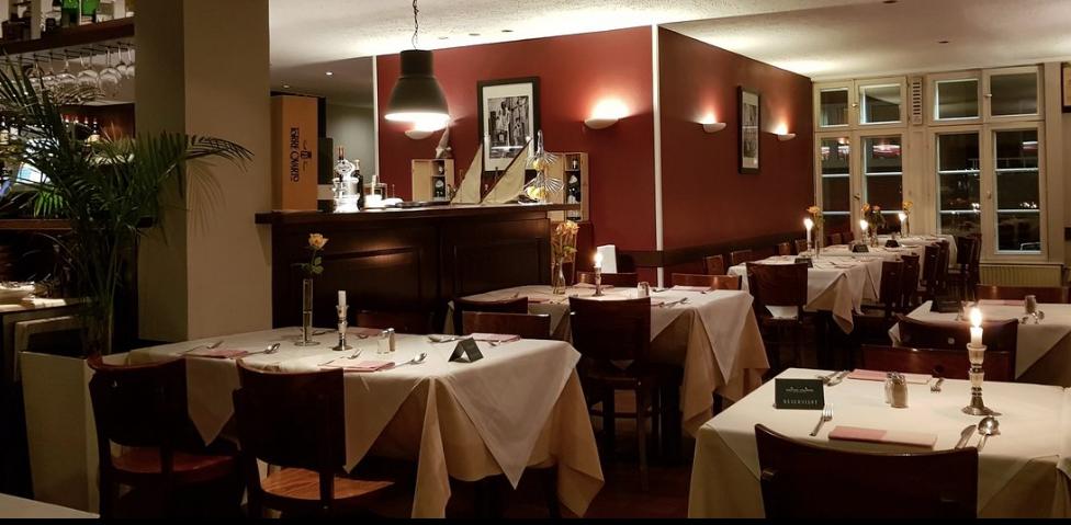Ristorante Capriccio: Blick in das Restaurant