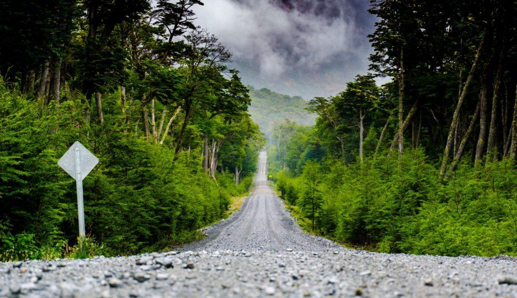 Freie Fahrt voraus in Patagonien © Martin Moschek