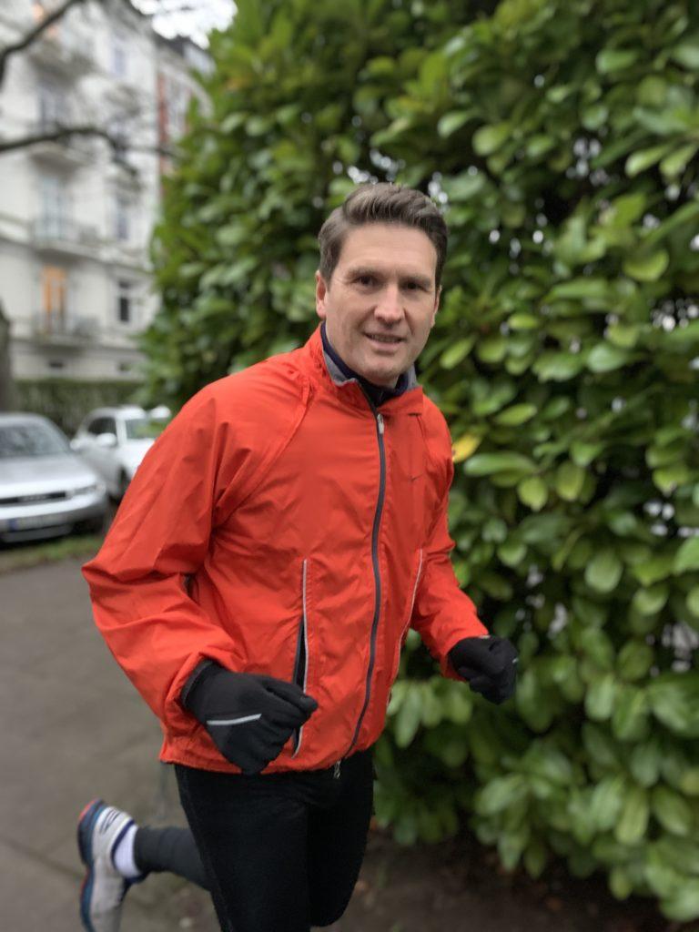Johannes Lichtenthaler beim Laufen