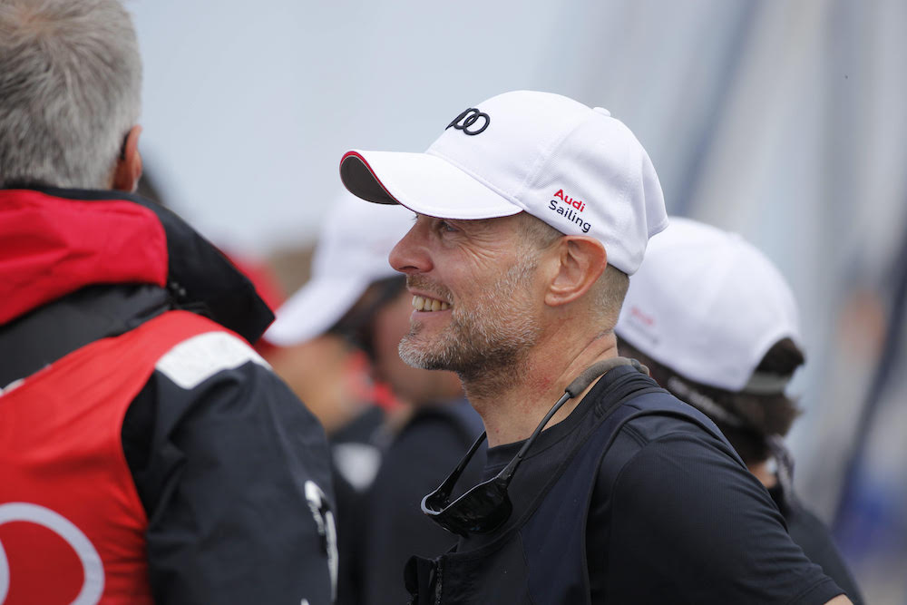 Uli bei der Speedboot Challenge während der Kieler Woche 2015