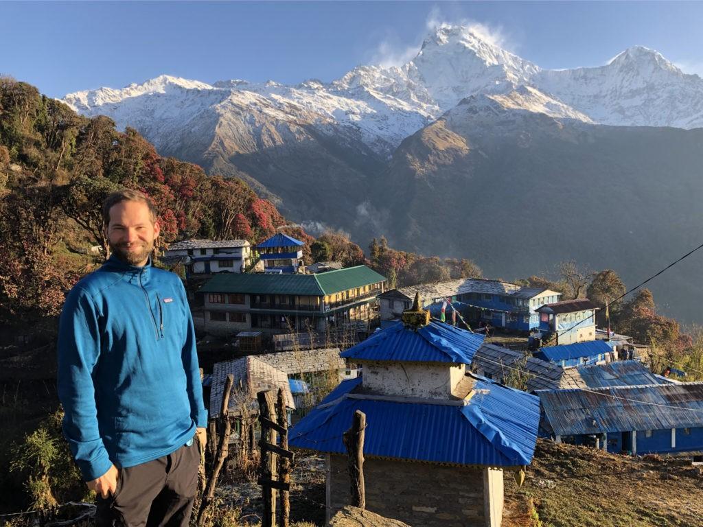 Nix Photoshop: Aussicht pur im Himalaya